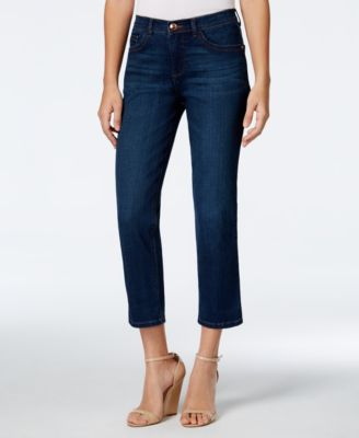 Image of Lee Platinum Cameron Cropped Jeans