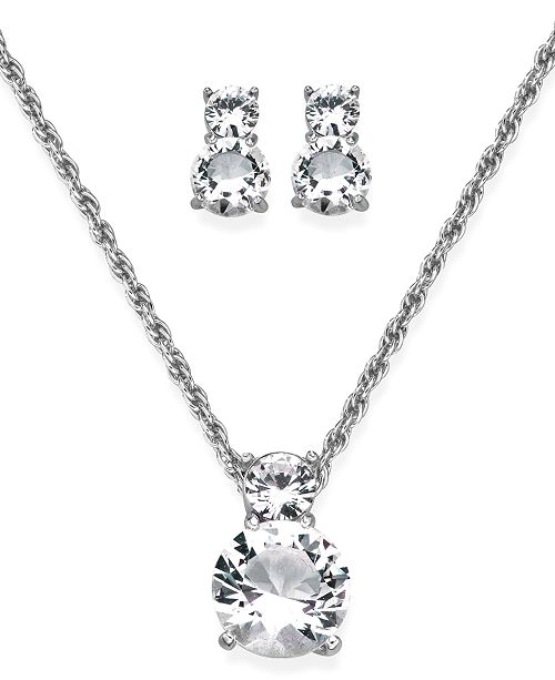 Swarovski Pendant And Earrings Set Crystal Reviews