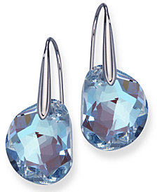 Swarovski Earrings, Galet