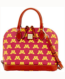 Dooney & Bourke Minnesota Golden Gophers Zip-Zip Satchel