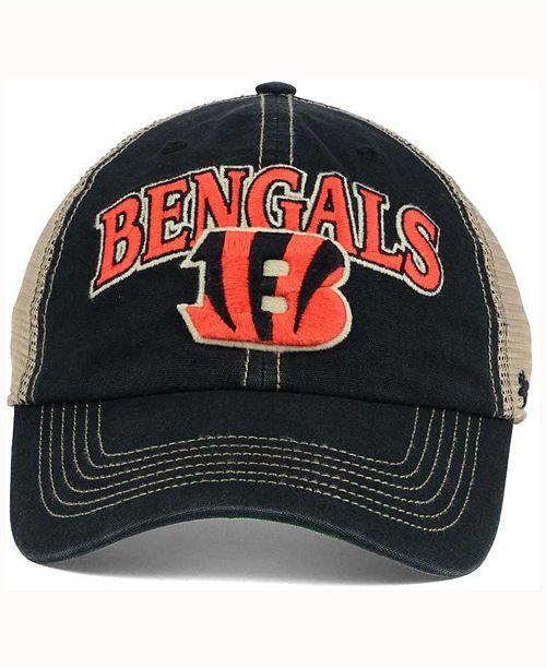 6fa53f16b3ac0a 47 Brand Cincinnati Bengals Tuscaloosa CLEAN UP Cap - Sports Fan ...