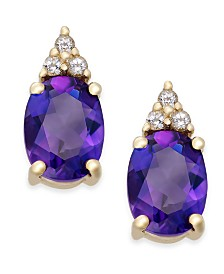 Amethyst 2 1 5 Ct T W And White Topaz