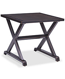 CLOSEOUT! Savannah Outdoor End Table, Created for Macy's