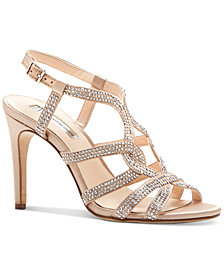 I.N.C. Women's Randii Evening Sandals, Created for Macy's
