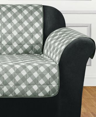 Furniture Flair Quilted Sofa Slipcover