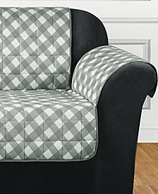 Sure Fit Furniture Flair Quilted Sofa Slipcover