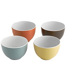 Pop Collection by Robin Levien 4-Pc. Small Bowl Set