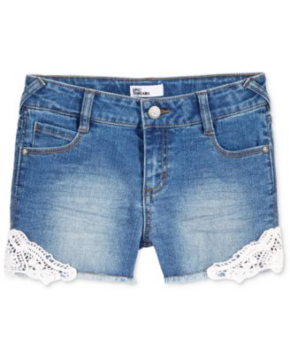 Image of Epic Threads Lace-Trim Shorts, Big Girls (7-16), Only at Macy's