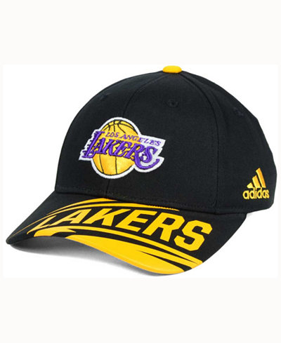 adidas Kids' Los Angeles Lakers Layup Adjustable Cap