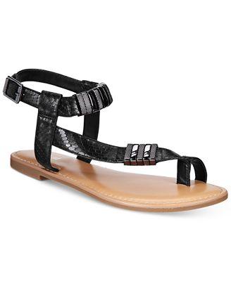 Bar III Verna Flat Sandals, Created for Macy's