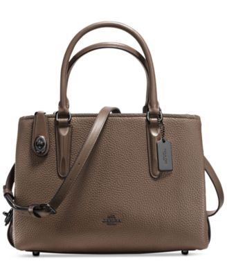coach usa outlet sale zdur  COACH Brooklyn Carryall 28 in Pebble Leather