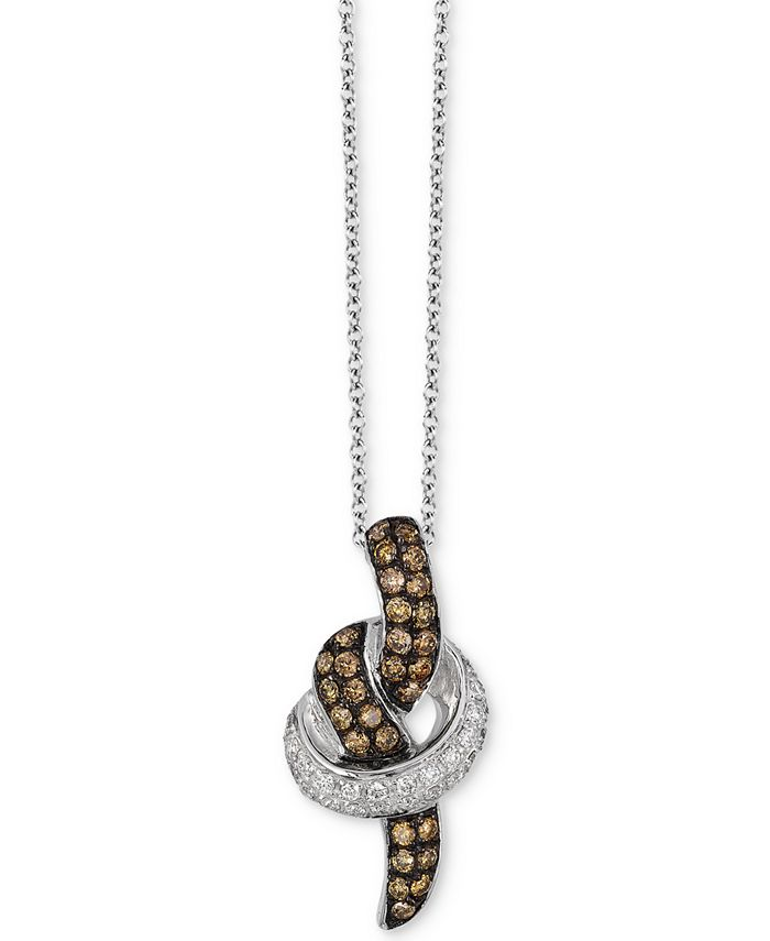 Le Vian - Diamond Pendant Necklace (1/2 ct. t.w.) in 14k White &or Rose Gold