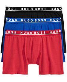 Men's 3 Pack Cotton Stretch Boxer Briefs