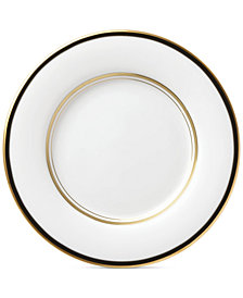 kate spade new york Library Lane Black Collection Saucer