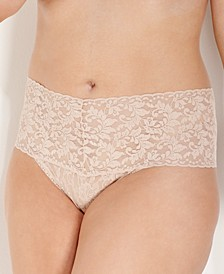 Plus Size Retro Thong 9K1926X