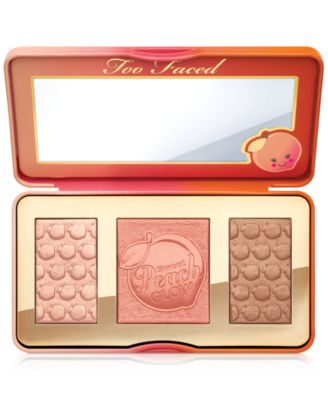 Sweet Peach Glow Bronzing and Highlighting Palette