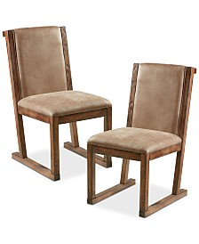 Gay Set of 2 Dining Chairs, Quick Ship