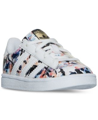 adidas Toddler Girls\u0027 Superstar Casual Sneakers from Finish Line