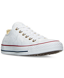 Converse Women's Chuck Taylor All Star Ox Stars Casual Sneakers from Finish Line