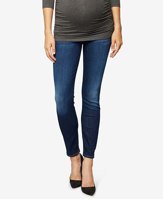 7 For All Mankind Woman Mid-rise Skinny Jeans Dark Denim Size 25 7 For All Mankind