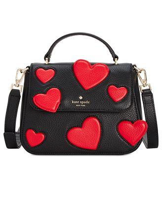 kate spade new york Be Mine Heart Small Alexya Handbag