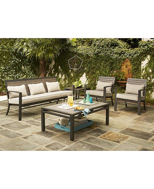 Furniture CLOSEOUT! Marlough Outdoor Seating Collection, Created for Macy's