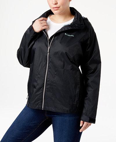Columbia Plus Size Switchback II Omni-Shield™ Water-Repellent Jacket