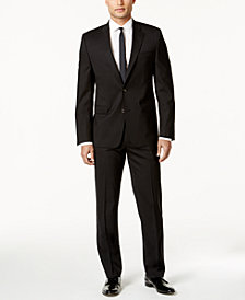 Lauren Ralph Lauren Slim-Fit Black Total Stretch Suit Separates