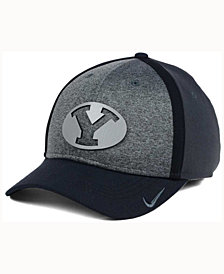 Nike BYU Cougars Heather Stretch Fit Cap