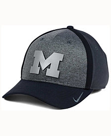 Nike Michigan Wolverines Heather Stretch Fit Cap