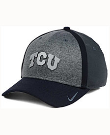 Nike TCU Horned Frogs Heather Stretch Fit Cap