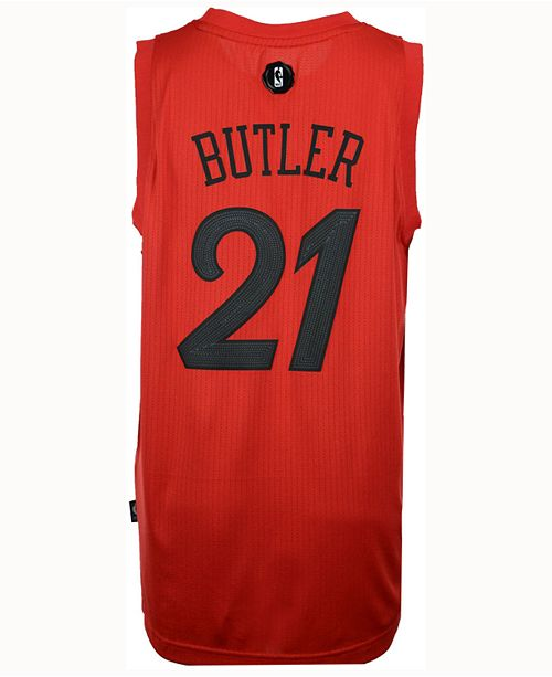 best service 54790 52a70 adidas Men's Jimmy Butler Chicago Bulls Christmas Day ...