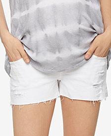 AG Jeans Maternity Frayed-Hem Shorts