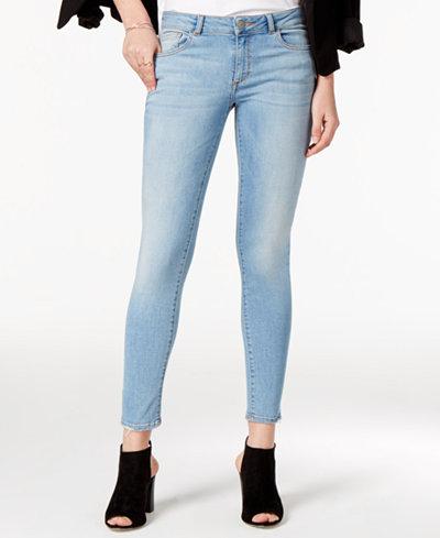 DL 1961 Emma Cropped Martel Wash Skinny Jeans