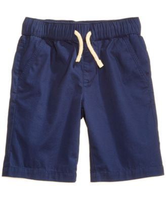 Pull-on Shorts with Functional Drawstring, Little Boys, Created for Macy's