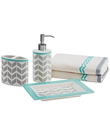 Intelligent Design Nadia/Elle 5-Pc. Bath Accessory Set