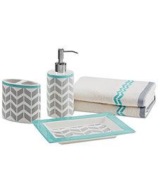 Intelligent Design Nadia/Elle 5-Pc. Bath Accessory Set