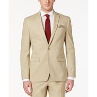 Deals on Bar III Men's Slim-Fit Tan Stretch Jacket