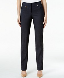 Slim-Fit Tummy-Control Pants, Created for Macy's