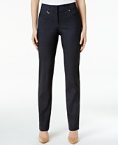 7b5d9d60d1 JM Collection Regular Length Curvy-Fit Pants, Created for Macy's.  Quickview. 7 colors