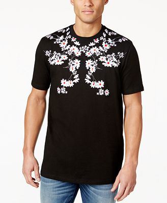 Hudson NYC Men's Embroidered T-Shirt