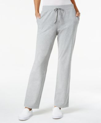 Image of Karen Scott Petite Soft Pull-On Pants, Created for Macy's