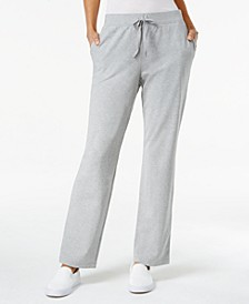 Petite Drawstring Active Pants, Created for Macy's
