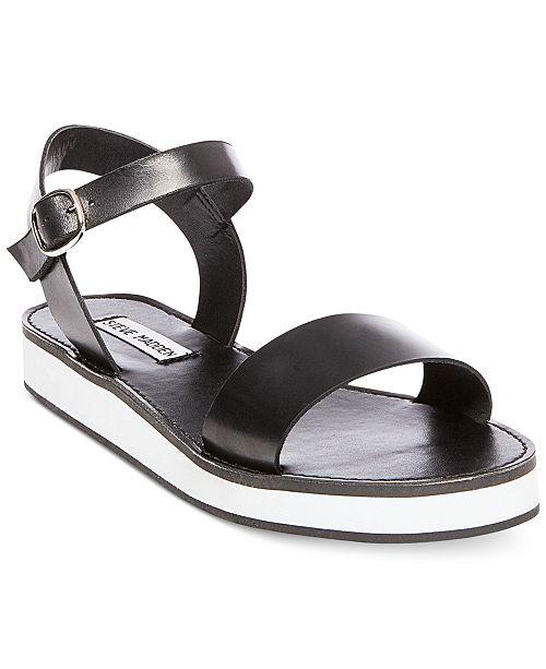 d57f599fa645 Steve Madden Women s Deluxe Two-Piece Platform Sandals   Reviews