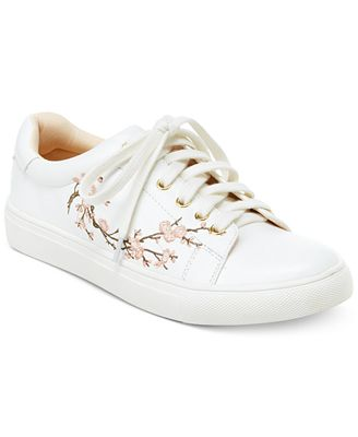 Nanette by Nanette Lepore Winona Blossom Lace-Up Sneakers, Created for Macys