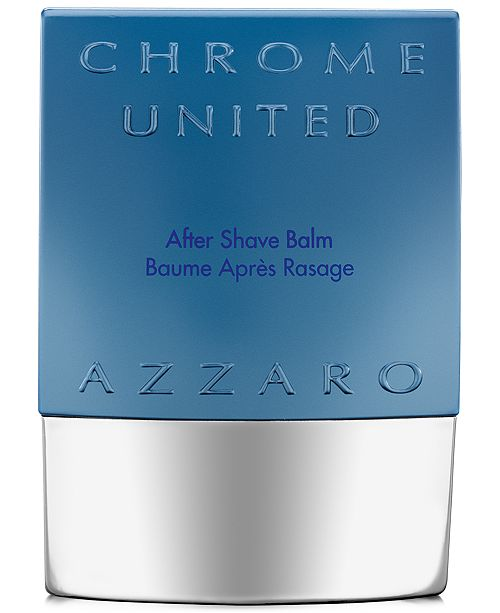 Azzaro Men's CHROME UNITED Aftershave Balm, 2.6 oz