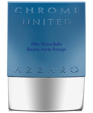 Azzaro Men's Chrome United Aftershave Balm, 2.6 oz