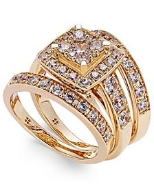Diamond Engagement Ring Bridal Set (2 ct. t.w.) in 14k White, Yellow or Rose Gold