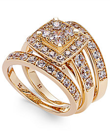 Diamond Engagement Ring Bridal Set (2 ct. t.w.) in 14k White, Yellow or Rose Gold