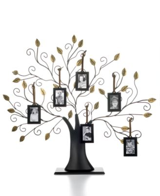 family tree with set of 6 hanging frames picture frames macys